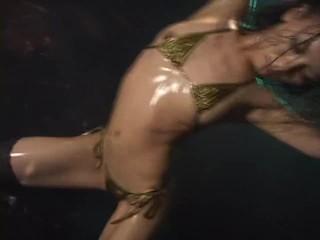 Micro Bikini Oily Dance 1 Scene 5 - Kaede