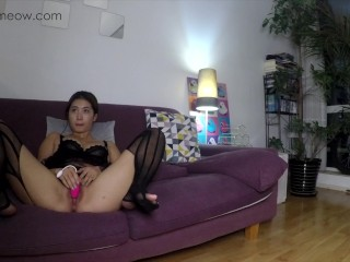 PornHub Birthday Gift MEOWMEOW LONG EDITION CASTING COUCH my first time making AV
